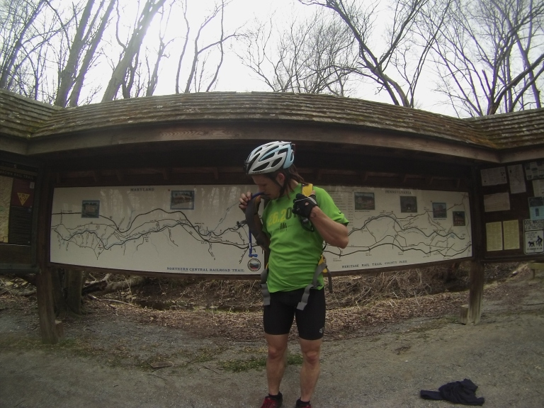 April Fool's Day Ride to the PA Border