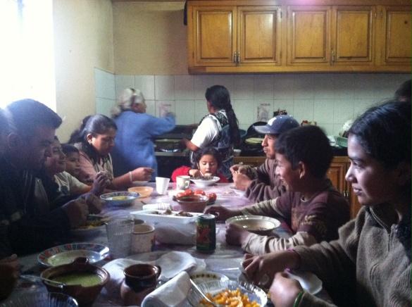 Mendoza family from Guadulpe Victoria, Puebla