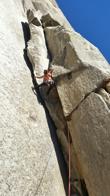 Climbing at Yosemite, CA